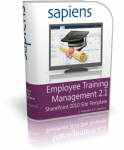 SharePoint Employee Training Management Site Template