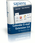 SharePoint Calendar E-Mail Extension