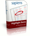 SharePoint Highlight Items