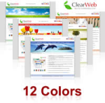 ClearWeb Skin (12 Colors) // SEO Standard Menu & Mega Menu // W3C Xhtml & CSS // For DNN4/ 5/ 6