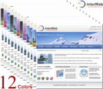 InterWeb Skin (12 Colors) // SEO Standard Menu & Mega Menu // W3C Xhtml & CSS // For DNN4/ 5/ 6
