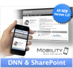 Mobility 2.2 Sleek Silver | DNN456 | SharePoint | Optimized for Mobile Devices