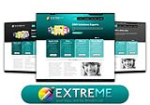 Extreme Teal Color Xhtml W3C Standard Compliant Skin Pack For DNN6/5/4
