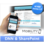Mobility 2.2 Twilight Teal | DNN456 | SharePoint | Optimized for Mobile Devices