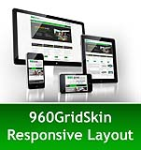 960 Grid Green Mobile & MGS Module & Portal Templates - Compatible Mobile and Desktop-DNN 6.2 Social