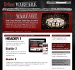 Urban Warfare - CSS3 Skin Pack for DNN6 - 8 Urban Colors