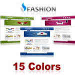Fashion Skin (15 Colors) // SEO Menu & Mega Menu // Slide Banner // W3C Xhtml & CSS // For DNN 5 & 6