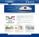 Fashion-SteelBlue Skin // SEO Menu & Mega Menu // Slide Banner // W3C Xhtml & CSS // For DNN 5 & 6
