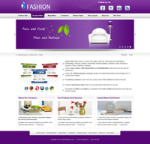 Fashion-Purple Skin // SEO Menu & Mega Menu // Slide Banner // W3C Xhtml & CSS // For DNN 5 & 6