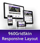 960 Grid Purple Mobile & MGS Module & Portal Templates -Compatible Mobile and Desktop-DNN 6.2 Social