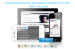 Inspired DNN Skin 960 Grid Mobile Compatiable with Portal Templates and Slider v6.1