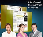 Cleanlily Olive W3C Vertical Skin Pack & FREE MGS Module & Portal Templates 