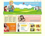 DNNCOW_Pet002 100%Hand painted/Original design_Pet Hospital_W3C Skin DNN5x/6x