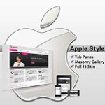 Apple Style DeepPink Color XHTML W3C Skin Pack & FREE MGS Module & Portal Templates
