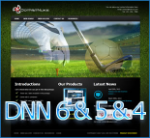 Sports 120622 for DNN6 & DNN5 & DNN4 // Flash Banner // W3C // Golf // Football