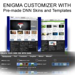 Enigma Customizer with Pre-made responsive 960 grid Skins with MegaMenu and xml Sliders