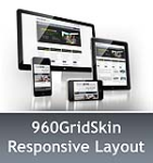 960 Grid SlateGray & MGS Module & Portal Templates - Compatible Mobile and Desktop - DNN 6.2 Social