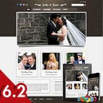 Wedding 68 Brown Skin Adaptive Responsive Skin *4 Modules* Mobile Skin Tablet Skin DNN 5.x,6.x,6.2