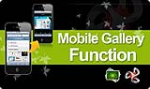 DNNSmart Mobile Gallery Function (A mobile gallery works with MobileDNN module)