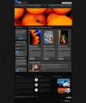 BlackOWhite WebStun Skin + Free Image Slider + Mega Menu W3C XHTML/CSS validated,No Tables,Only DIVs