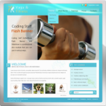 Yoga and Fitness web 2.0 DNN Skin version 01.01.03