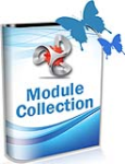 DNNSmart Module Collection - 15 modules - Include Form, Email, Ticket, Login, System, Effect...