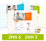 Business 120806 Skin Package for DNN 6 / Slide Banner / XHTML / Professional / Mobile Compatible