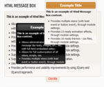 Html Message Box