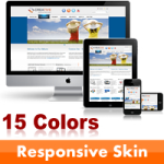 Creative Skin (15 Colors) // Responsive Design // Mobile & Tablet // Slider Banner // DNN 5 & 6 & 7