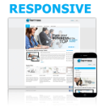 Responsive DNN Skin 120826 For DNN 6 / Mobile Social Available / Slide Banner / Business