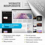 WebsiteResponsive Premium DNN Skin // Any Device // Blog // Portfolio