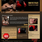 Boxing/Sport Skin 10693 with Xmenu_compatible with Mobile/PC/DNN4.5.6_Free 2modules