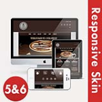 Business 56 Brown Flexible Responsive Skin * Mega Menu * Nivo Slider * Touch Slider * Twitter Module
