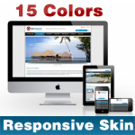 Extensive Skin (15 Colors) // Responsive Design // Mobile & Tablet // Slider Banner // DNN 5 & 6 & 7