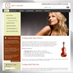 Art and Music web 2.0 DNN Skin version 01.01.05