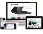 (DNN 5/6) Computer Mobile DNN Skin-V2 Responsive Design/Compatible Desktop//Ipad//Mobile//Gallery