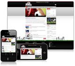 (DNN 4/5/6) Red and Black Football DNN Skin 004-V2 with Slider Banner