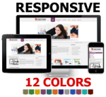 PT Responsive DNN Skin Pack 01 / 12 Colors / 3D Slide Banner / Professional Mobile Business