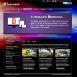 TransWeb HTML5 Responsive DNN Skin with Bootstrap, Multiple Backgrounds and Slider v6