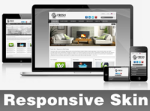 Fresh-Gray Skin // Responsive Design // Mobile & Tablet // Slider Banner // DNN 5 & 6 & 7