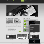 Pro business Skin 10281 with Banner slider and Mobile skin/compatible with DNN4/5/6