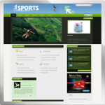 News Portal web 2.0 DNN Skin version 01.01.03