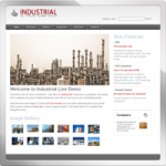 Industrial web 2.0 DNN Skin version 01.02.07