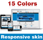 Exceed Skin ( 15 Colors ) // Responsive Design // Mobile & Tablet // Slider Banner // DNN 5 & 6 & 7