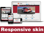Exceed-Brown Skin // Responsive Design // Mobile & Tablet // Slider Banner // For DNN 5 & 6 & 7
