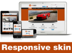 Exceed-Chocolate Skin // Responsive Design // Mobile & Tablet // Slider Banner // For DNN 5 & 6 & 7