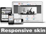 Exceed-Gray Skin // Responsive Design // Mobile & Tablet // Slider Banner // For DNN 5 & 6 & 7