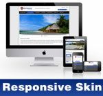 Extensive-RoyalBlue Skin // Responsive Design // Mobile & Tablet // Slider Banner // DNN 5 & 6 & 7