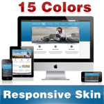Dream Skin ( 15 Colors ) // Responsive Design // Mobile & Tablet // Slider Banner // DNN 5 & 6 & 7