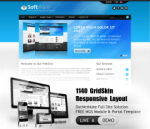 Software SkyBlue // 1140 Grid // Mobile and Desktop Responsive // Typography // Social